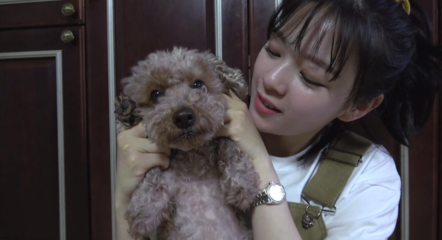 """정연 TV """"반려견 수제 간식 쿡방!"""" BEHIND SELF-CAM"""