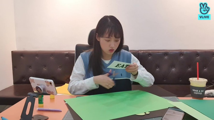 [Weki Meki] Making With Sei😊✂️