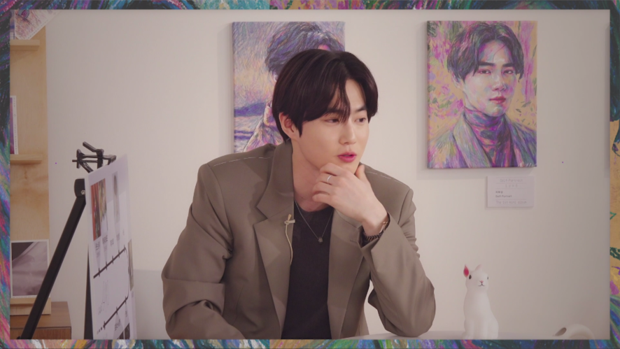 Let's Love-CAM | Behind Sketch Film @Suho Exhibition: Let's Love