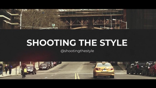[shooting the style] 스타일 헌터 휴고 리와 함께 하는 뉴욕 패션위크 2탄(Feat, 코치, 마이클 코어스, 롱샴, 짐머맨...)
