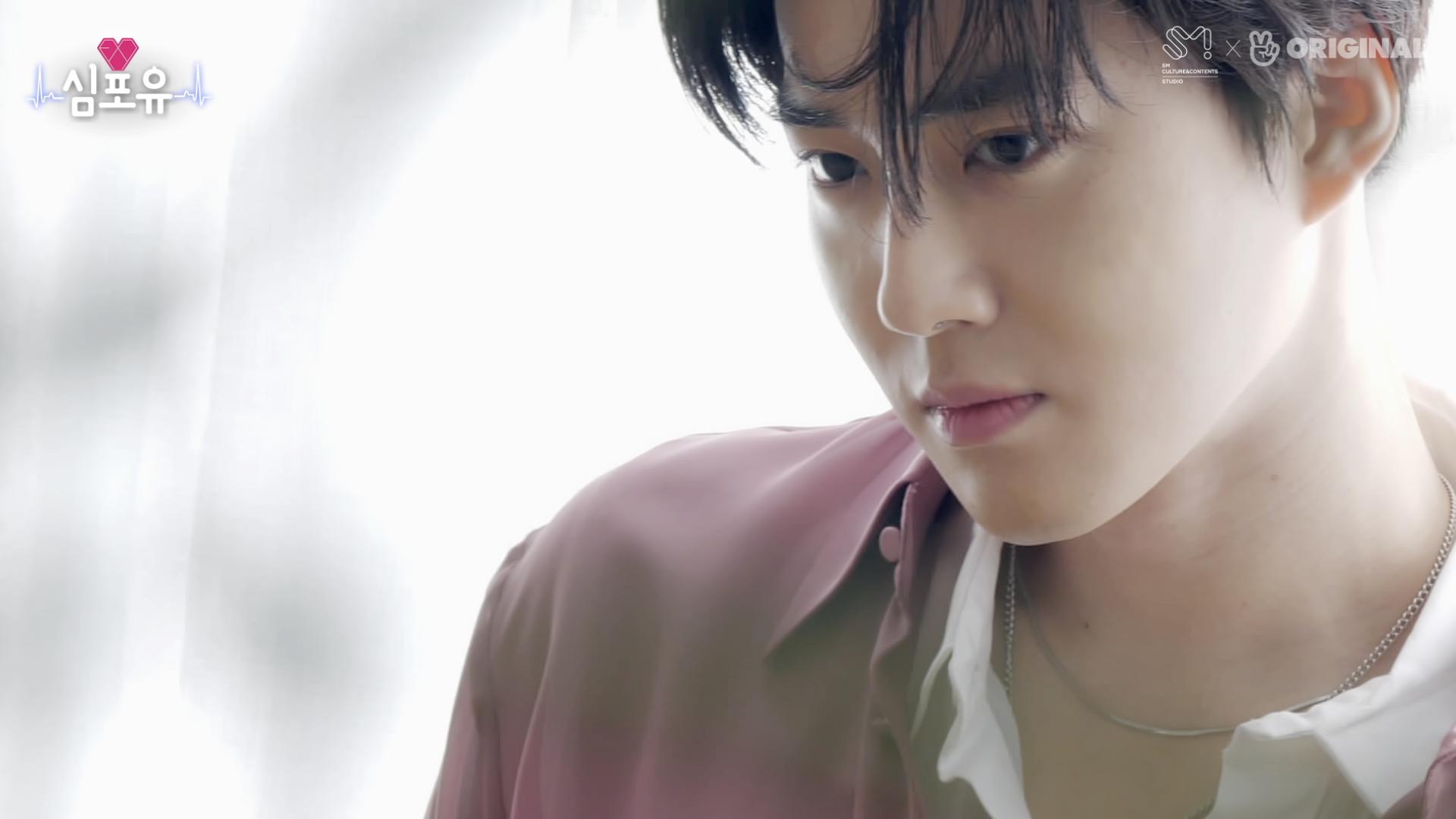 [심포유 #수호] EP02 #재킷촬영비하인드 #작사가SH2O #feat.수호작업실