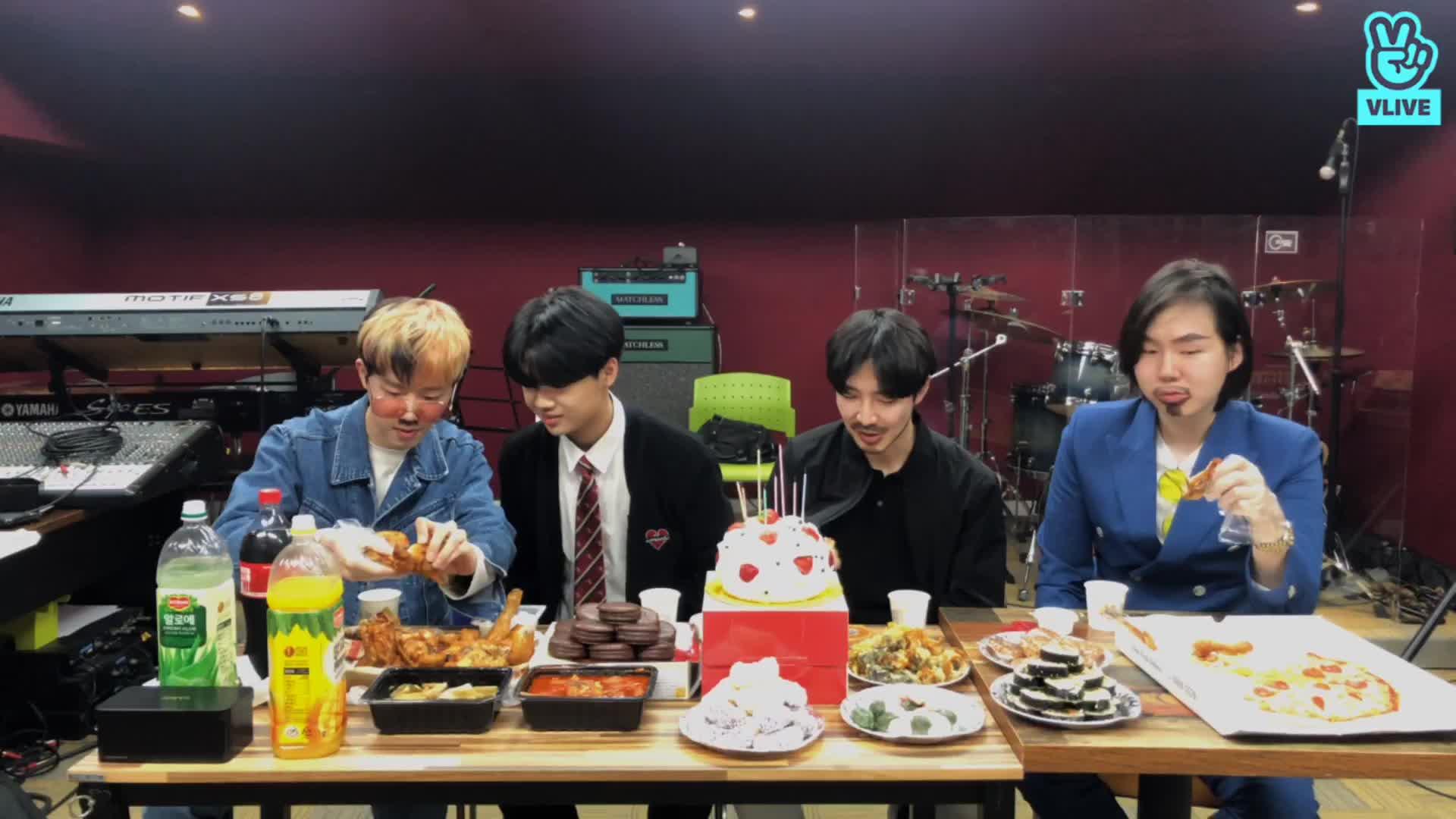 26살 진호 형 생일 파티
