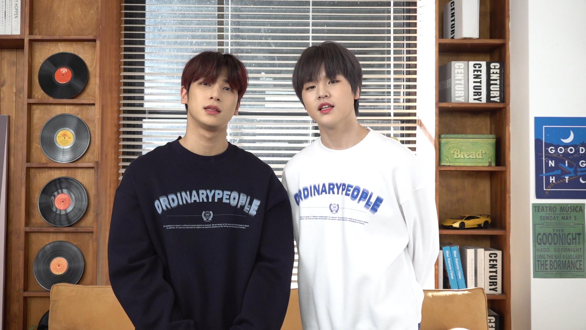 [H&D] 이한결&남도현(LEEHANGYUL&NAMDOHYON) 브이앱 인사말