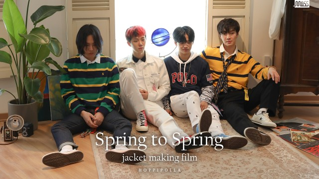 [Behind The Scenes] 호피폴라(Hoppipolla) 'Spring to Spring' Jacket Photo Shooting (ENG SUB)