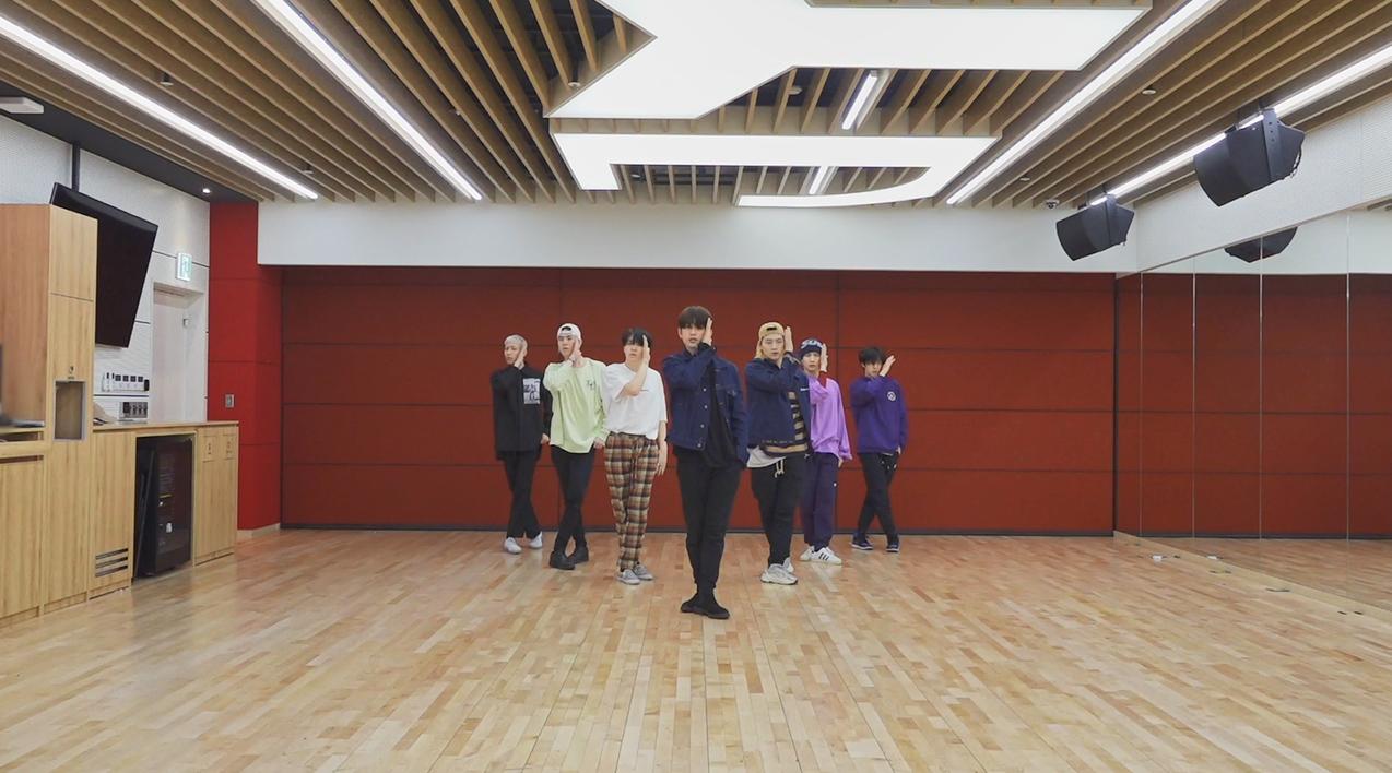 "GOT7(갓세븐) ""AURA"" Dance Practice"