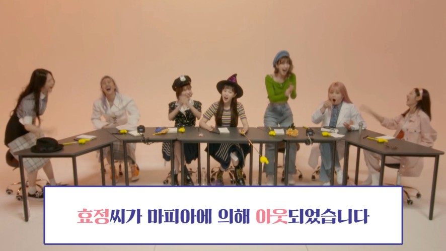 [OH MY GIRL] OH MY GIRL playing the Mafia game🎲💣