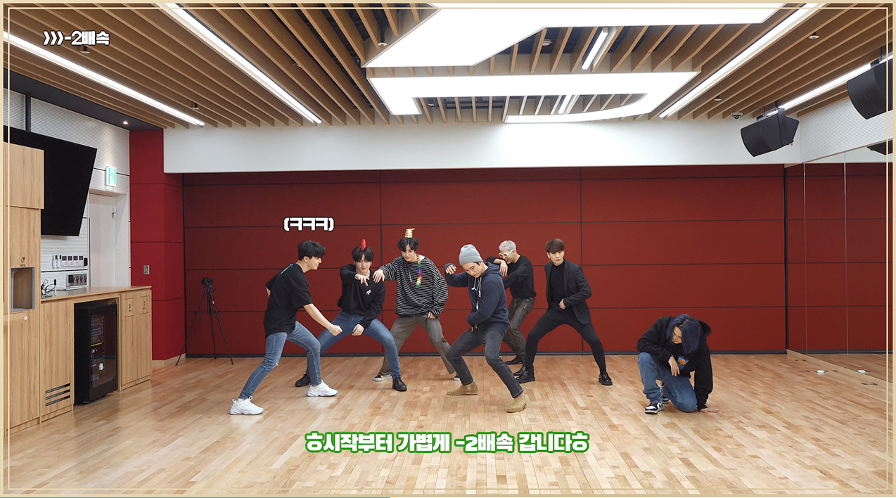 "GOT7(갓세븐) ""NOT BY THE MOON"" Dance Practice (Random Speed Ver.)"