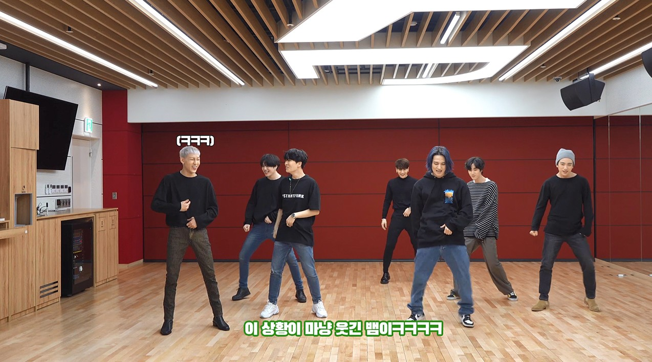 "GOT7(갓세븐) ""NOT BY THE MOON"" Dance Practice (Part Switch Ver.)"