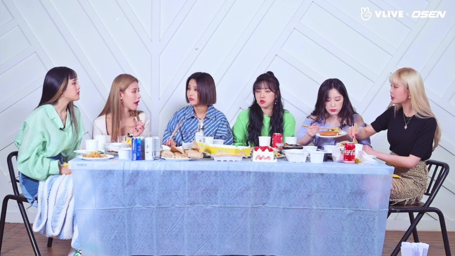 """GIDLE, Excited at get-together """"Cuteness overload"""" #Star Road 08"""