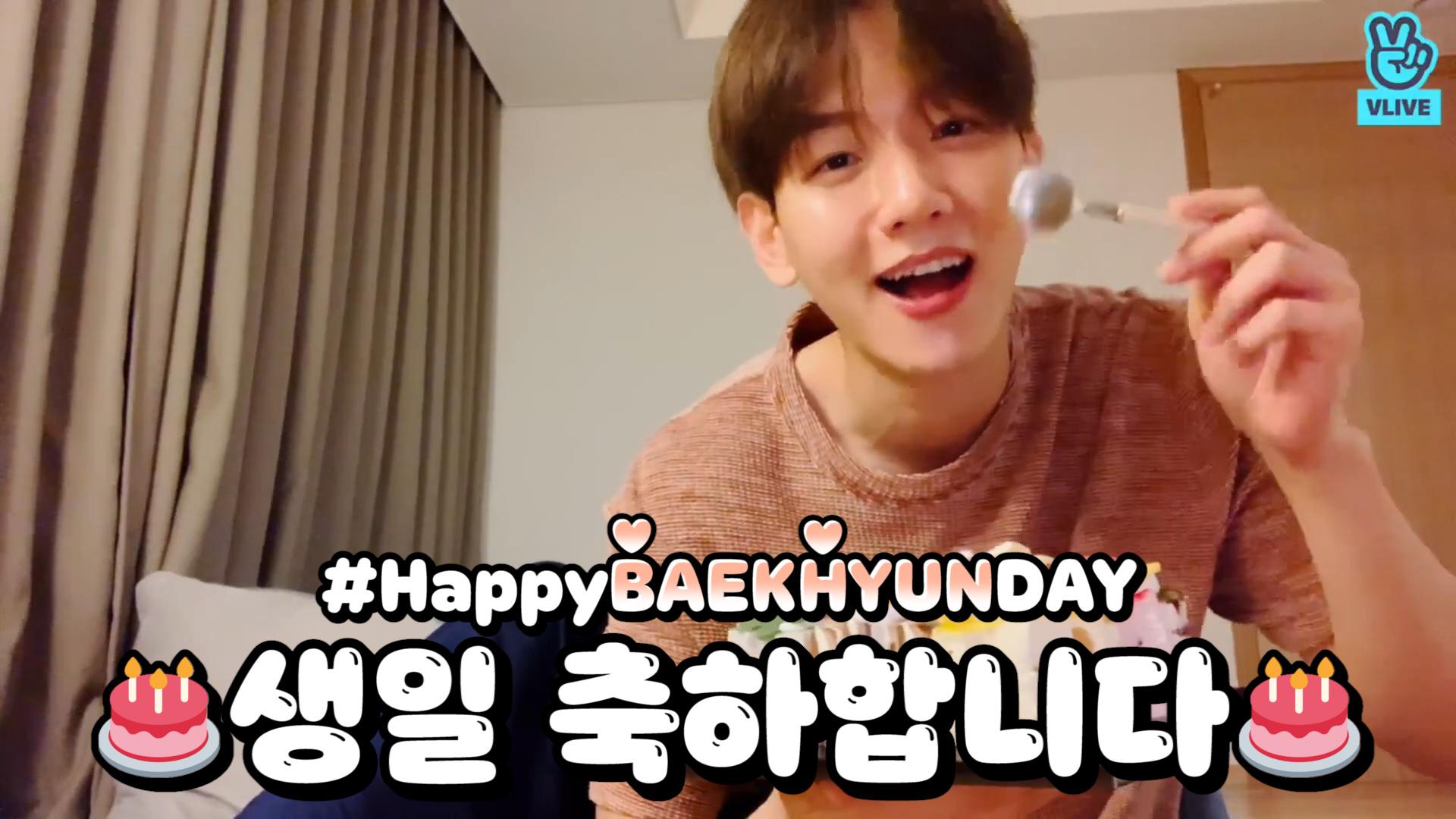 [EXO] 연금복권이 왜 필요해 100세 인생 내내 자랑스런 큥이 있는데❤️ (HAPPY BAEKHYUN DAY!)