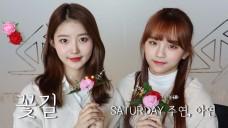 SATURDAY(세러데이) 주연,아연   세정 - '꽃길' Cover (ft. 특별한 엔딩요정)