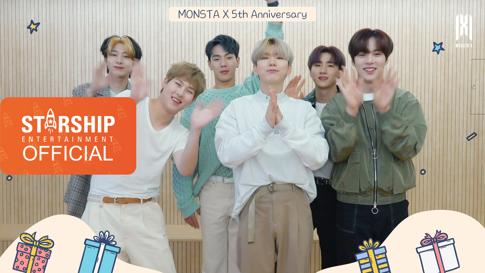 [Special Clip] 몬스타엑스 (MONSTA X) - DEBUT 5th Anniversary Message