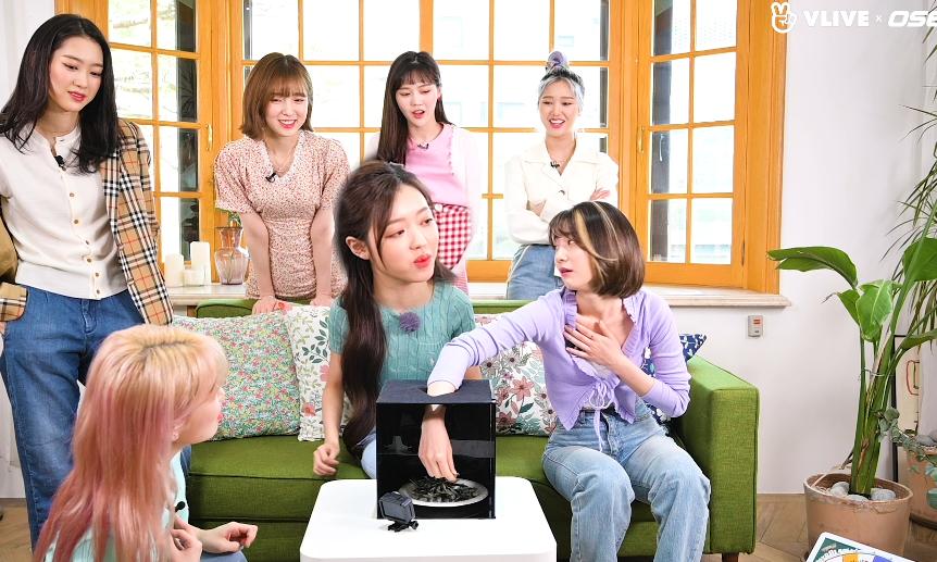 OHMYGIRL 오마이걸, 우당탕탕 촉감게임(ft.고음주의) #스타로드 03