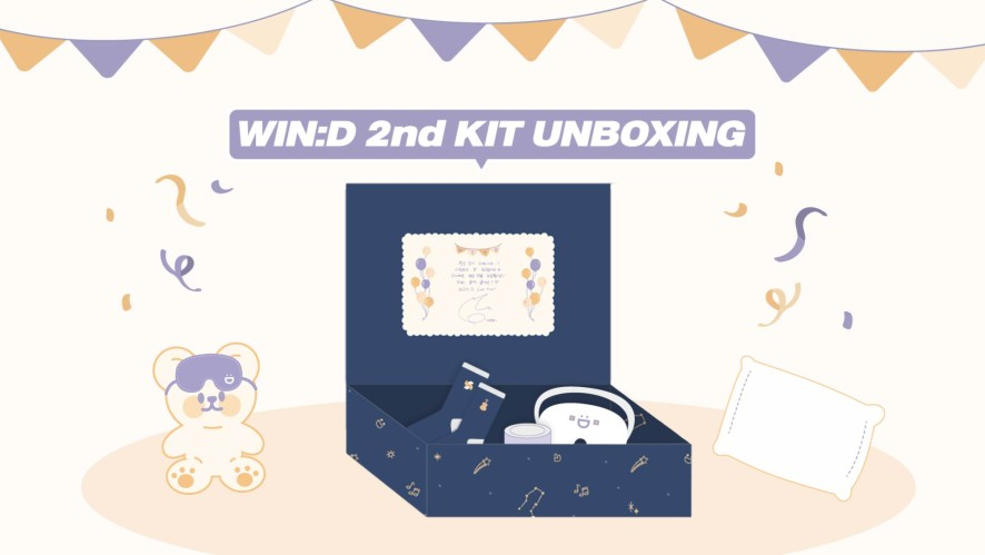 [🎬] Kim Jaehwan 2nd Recruitment of WIN:D KIT Unboxing