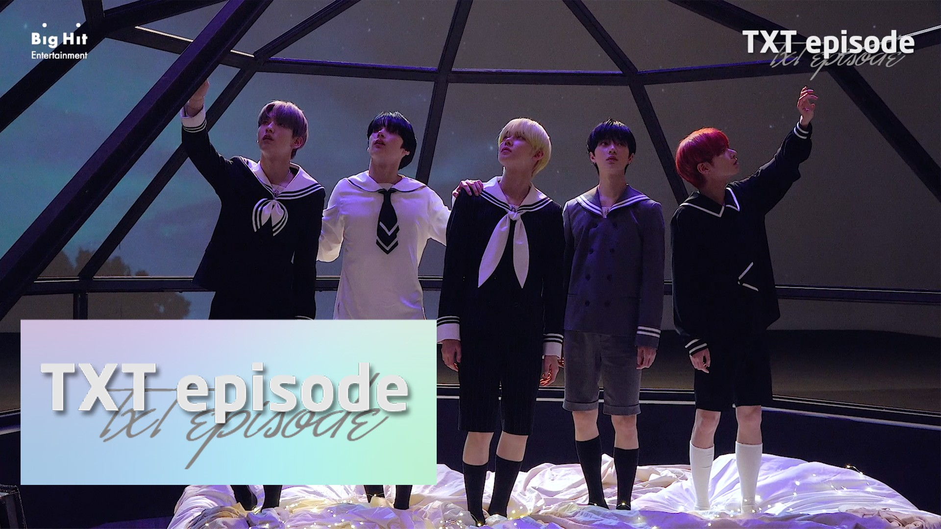 [EPISODE] TXT (투모로우바이투게더) '꿈의 장: ETERNITY' Jacket shooting sketch