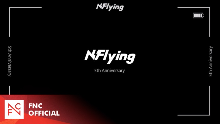 N.Flying 5th Anniversary 520 Message
