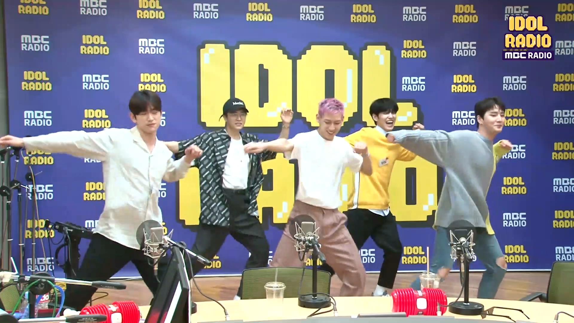 갓세븐x데이식스의 기본기 댄스댄스!!♥