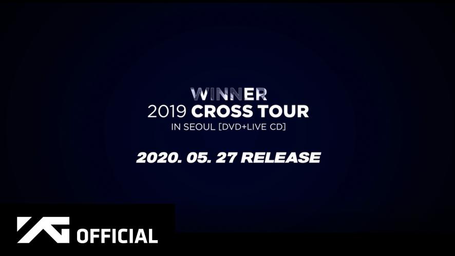 WINNER - WINNER 2019 CROSS TOUR IN SEOUL [DVD+LIVE CD] SPOT