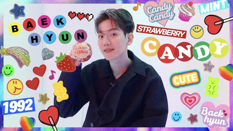 BAEKHYUN so sweet like CANDY 🍭c('ㅅ'🍬c)