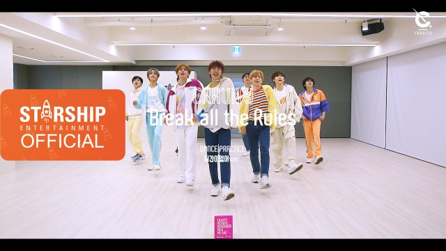[Dance Practice] CRAVITY - Break all the Rules (We're out of time ver.)