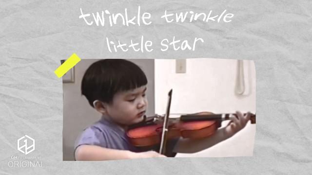 BENJI violin Live🎻 ♪ twinkle twinkle little star | 1996&2020