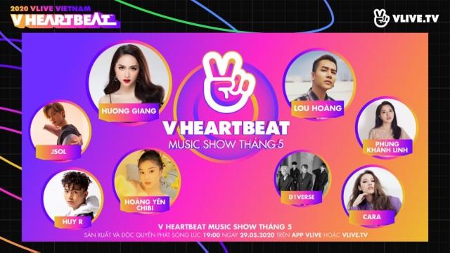 V HEARTBEAT Music show Tháng 5