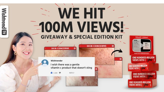 Thank You For 100 Million Views on YouTube! (New Product Pre-Launch + Special Giveaway 👀❤️)