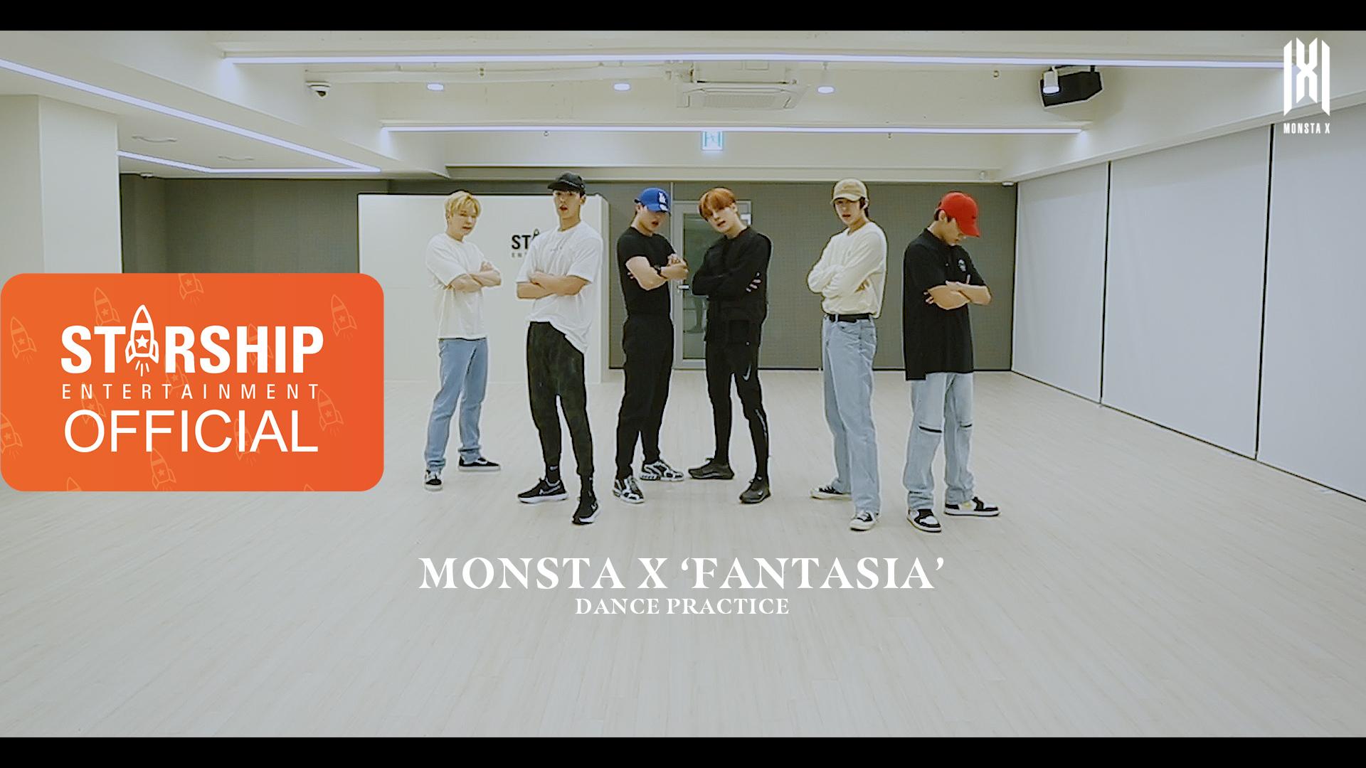 [Dance Practice] MONSTA X (몬스타엑스) - FANTASIA
