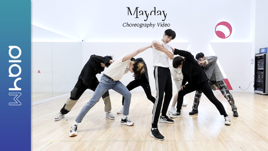 VICTON 빅톤 Mayday 안무 연습 영상 (Choreography Practice Video)