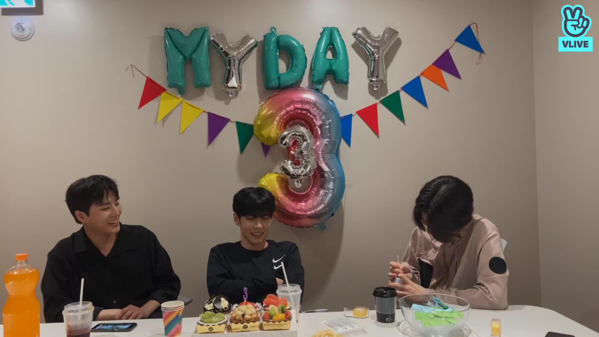 다시 돌아온 My Day 생일 축하 파티🍀