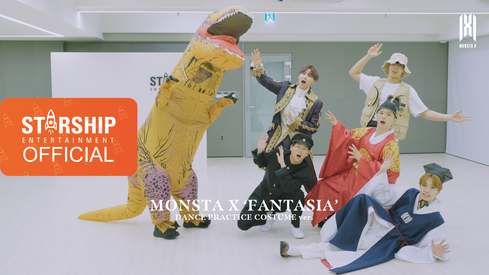 [Dance Practice] MONSTA X (몬스타엑스) - FANTASIA (COSTUME ver.)