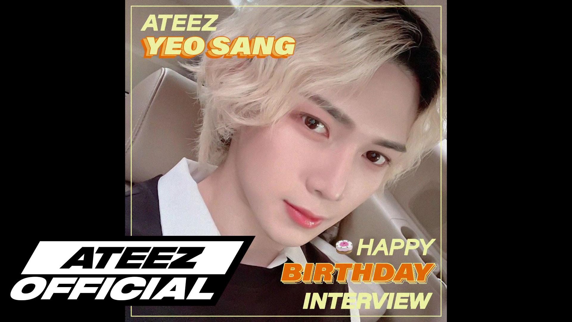 ATEEZ(에이티즈) 여상 생일 8문 8답 INTERVIEW