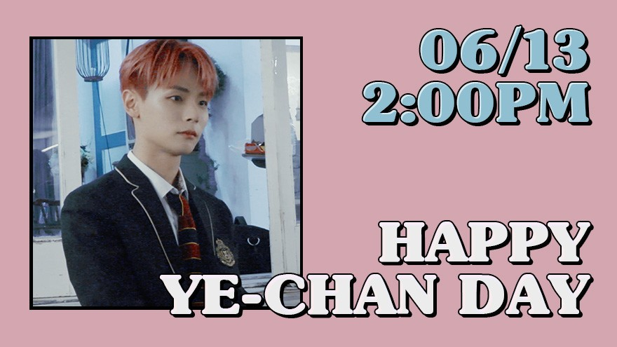 'HAPPY BIRTHDAY YE-CHAN ' ONLINE PARTY
