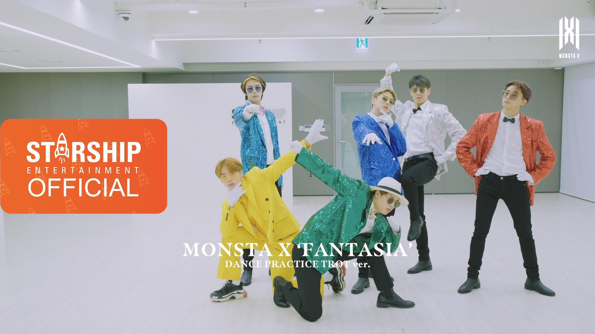 [Dance Practice] MONSTA X (몬스타엑스) - FANTASIA (Special ver.)