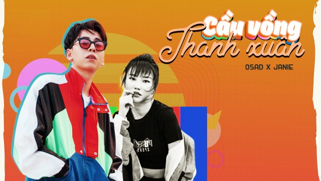 Cầu Vồng Thanh Xuân | OSAD x JANIE l Official Lyrics Video