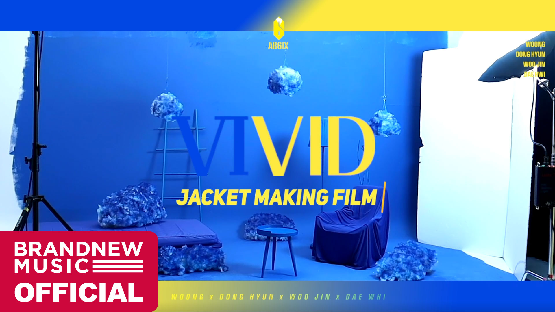 AB6IX (에이비식스) 2ND EP 'VIVID' JACKET MAKING FILM