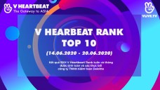 Top 10 V HEARTBEAT Rank tuần 14.06 ~ 20.06