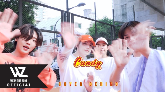 WE IN THE ZONE(위인더존) - Candy cover Behind