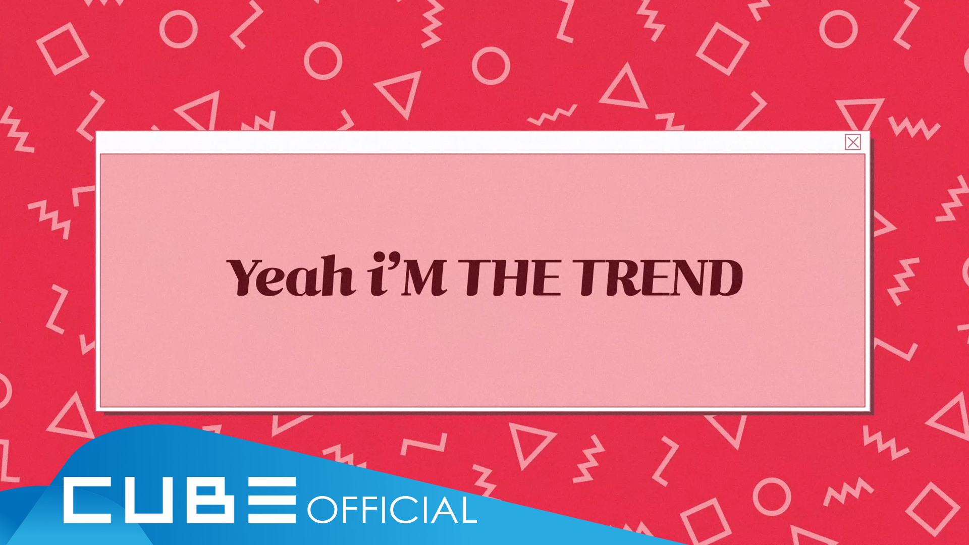 (여자)아이들 - 'i'M THE TREND' Lyric Video