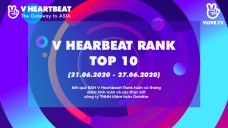 Top 10 V HEARTBEAT Rank tuần 21.06 ~ 27.06