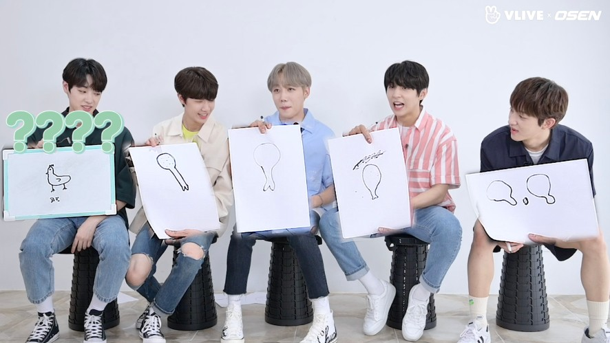 Golden Child uses their intuition, not their drawing skills, to earn food #Star Road 05