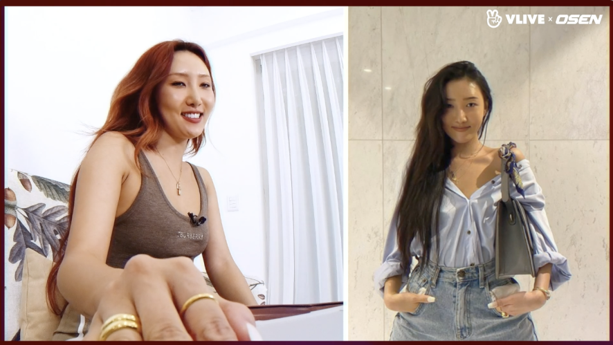 MAMAMOO's Hwasa takes selfies, when? Looking through her SNS photos #StarRoad 04