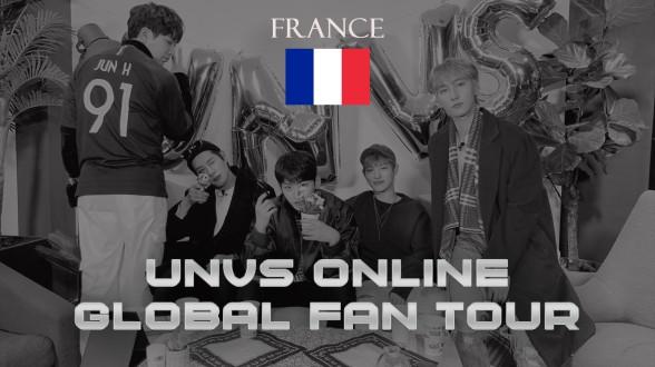 UNVS(유엔브이에스) - ONLINE GLOBAL FANTOUR #FRANCE (ENG SUB)