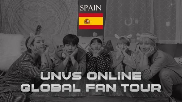 UNVS(유엔브이에스) - ONLINE GLOBAL FANTOUR #SPAIN (ENG SUB)