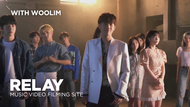 [Pops in Seoul] Relay!‍ With Woollim's 🎶MV Shooting Sketch🎨