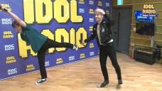 댄싱케이&찬의 포인트 안무 배우기!