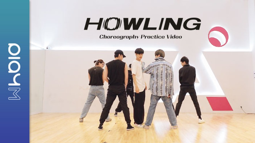 """VICTON """"Howling"""" Choreography Practice Video"""