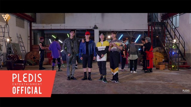 SEVENTEEN - Left & Right Twinkling Part Switch Ver.