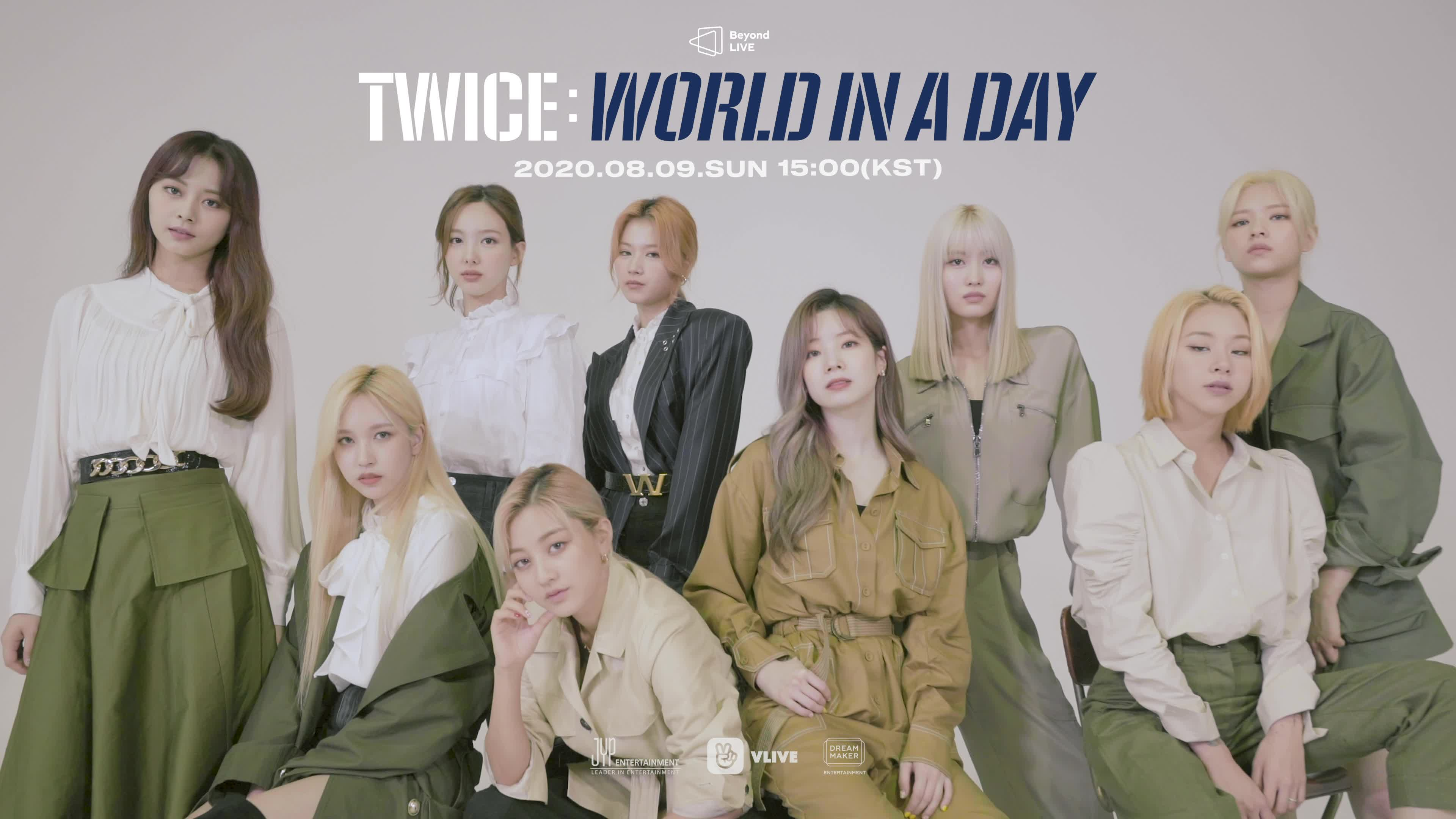 [Beyond LIVE - TWICE : World in A Day] Moving Poster - TWICE