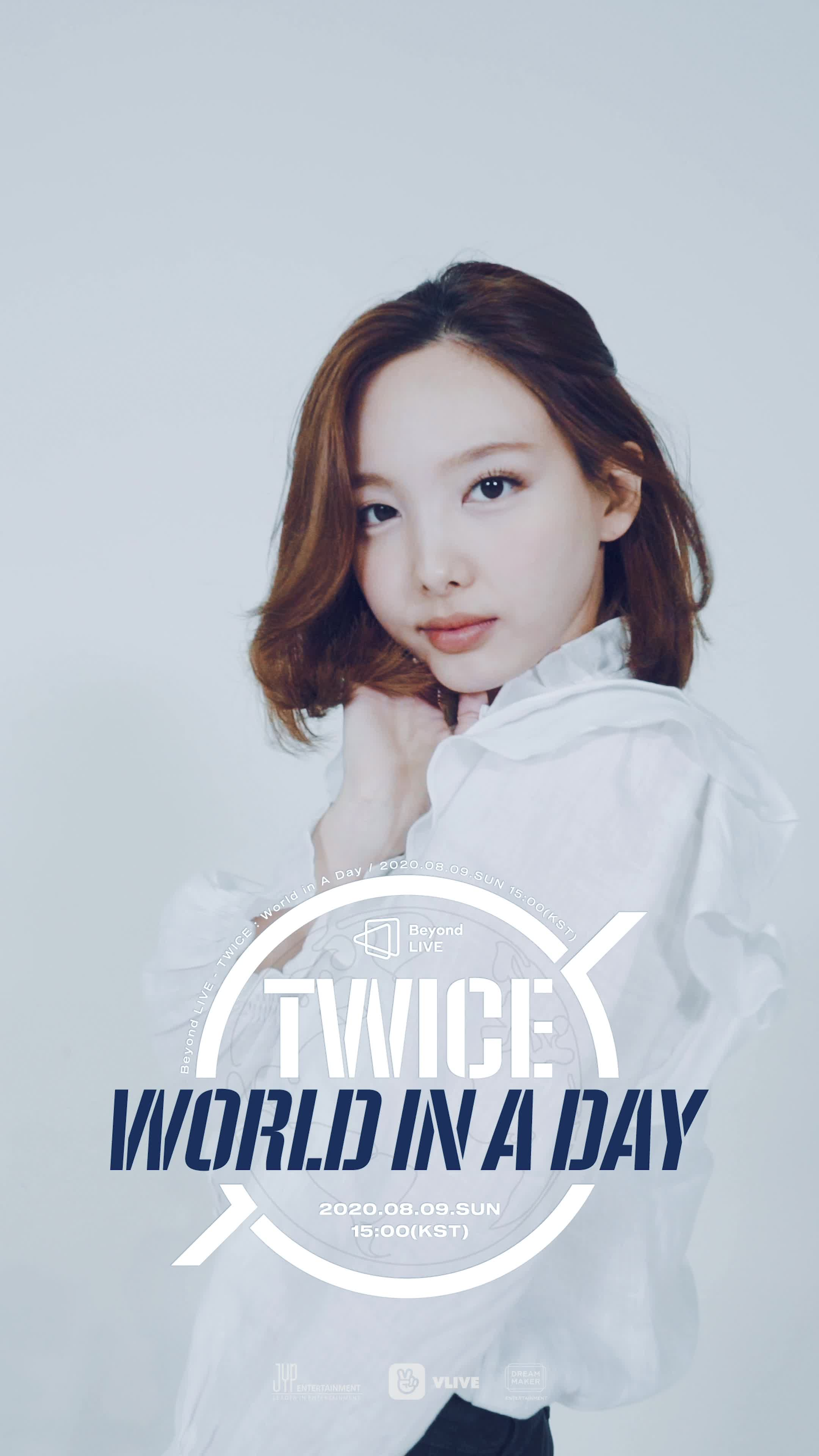 [Beyond LIVE - TWICE : World in A Day] Moving Poster - NAYEON